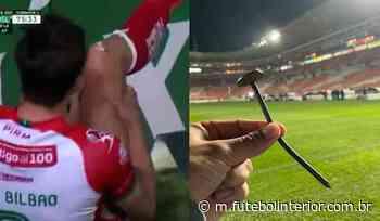 Unai Bilbao leva 12 pontos após se ferir com prego de 15 cm - Futebol Interior - Futebolinterior