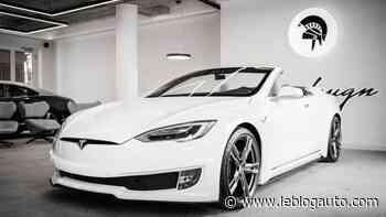 Tesla Model S cabriolet par Ares Design - Le Blog Auto