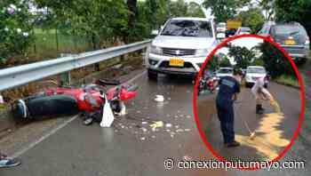 Presencia de combustible sobre la vía provocó accidente de tránsito entre Villagarzón y Puerto Asís - Conexión Putumayo