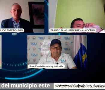 Se cumplió audiencia virtual de revocatoria de mandato al alcalde de Tolú - El Universal - Colombia