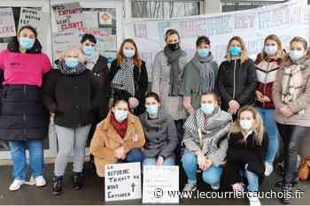 Saint-Romain-de-Colbosc. Les salariés de L'Espace des farfadets en grève contre la réforme Taquet - Le Courrier Cauchois
