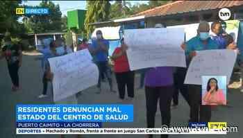 Moradores denuncian el mal estado del centro de salud en Puerto Caimito - TVN Noticias