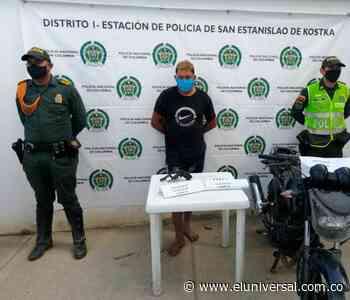 Capturan a protagonista de millonario robo en San Estanislao de Kostka - Arenal - El Universal - Colombia