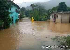 Un total de 60 viviendas afectadas por desbordamiento de drenaje en Changuinola - TVN Panamá
