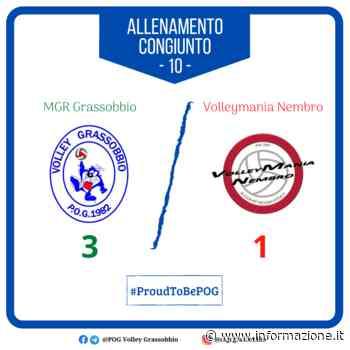 Volley SerieB: un buon segnale dall'MGR Grassobbio contro Nembro - informazione.it