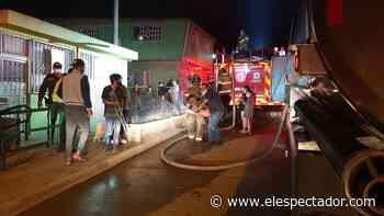 Bomberos de Bogotá atendieron incendio de gran magnitud en el barrio Caracolí, Ciudad Bolívar - El Espectador