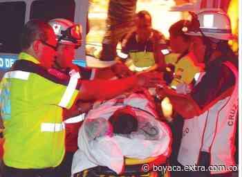 Terrible accidente en Otanche, Boyacá, Jhon Alexander de un tiro 'se sacó las tripas'   Boyacá - Extra Boyacá