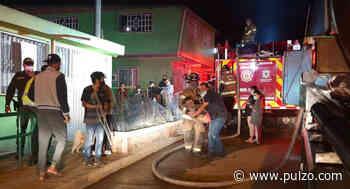 Incendio en barrio Caracolí del sur de Bogotá afecta al menos una docena de viviendas - Pulzo.com