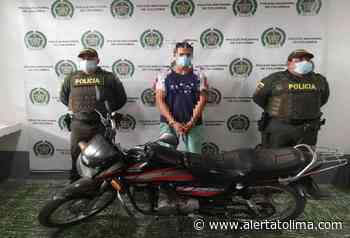 Lo 'sapearon' y pudieron recuperar la motocicleta que se robó en Palocabildo - Alerta Tolima