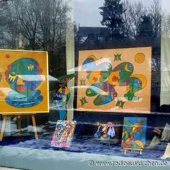 Kunst in Schaufenstern in Schleiden - radioeuskirchen.de