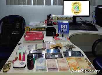 Família do tráfico é detida com drogas em Muniz Freire - ES Hoje