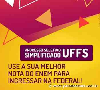 UFFS Campus Chapecó está com inscrições abertas para três cursos de graduação - Jornal Bom Dia