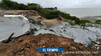 Susto en Arboletes por desbordamiento de material en volcán de lodo - El Tiempo