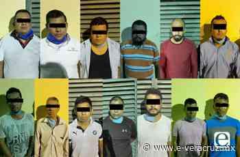 Detienen a 13 en Córdoba; algunos eran policías de Paso del Macho 2020 - e-consulta Veracruz