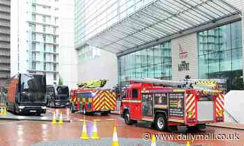 Emergency fire services called to Manchester United team hotel ahead of Everton match