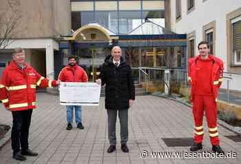 DLRG-Ortsverbände Lichtenfels und Burgkunstadt unterstützen Landkreis bei den Covid-19-Tests – Landrat Meißner übergibt Scheck über 1000 Euro - Der Neue Wiesentbote