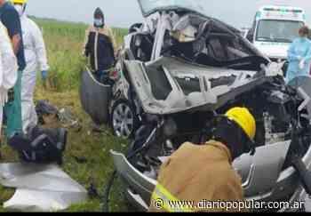 Accidente fatal: cuatro muertos en Villa del Totoral - Popular