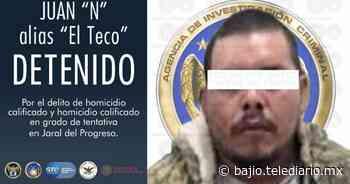"""Cae """"El Teco"""" participante en masacre en bar de Jaral del Progreso - Telediario Bajio"""
