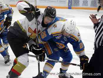 Oil Barons defeat Bonnyville in final two exhibition games; Wang heading to Princeton - Owen Sound Sun Times