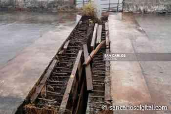 Vandalismo desarma estructuras en ruta La Abundancia - San Ramón - San Carlos Digital