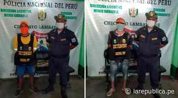 Botaban desechos médicos en las Pampas de Reque   LRND - LaRepública.pe