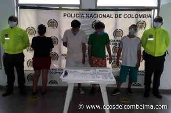 Allanamiento en el municipio del Guamo dejó cuatro personas capturadas - Ecos del Combeima
