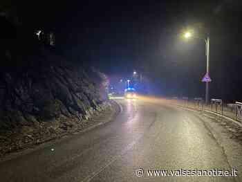 Frana a Ponzone chiusa la strada provinciale 200 - valsesianotizie.it