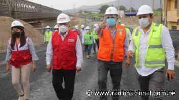 Realizan reconstrucción del puente Virú sin afectar conexión entre Chimbote y Trujillo - Radio Nacional del Perú