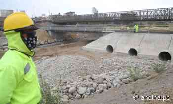 Reconstrucción del puente Virú avanza sin afectar conectividad entre Chimbote y Trujillo - Agencia Andina