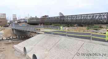 La Libertad: en dos semanas debe funcionar puente alternativo sobre río Virú - LaRepública.pe