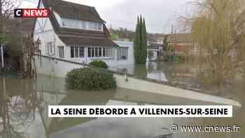La ville de Villennes-sur-Seine, en bord de Seine, est inondée - CNEWS