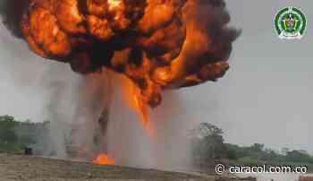 Capturan 17 personas y destruyen maquinaria para la minería ilegal en Nechí - Caracol Radio