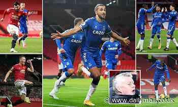 Manchester United 3-3 Everton: Dominic Calvert-Lewin grabs LAST-MINUTE equaliser