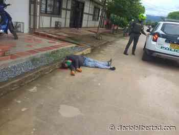 En video – Quedó registrado crimen a bala de hombre en Curumaní - Diario La Libertad