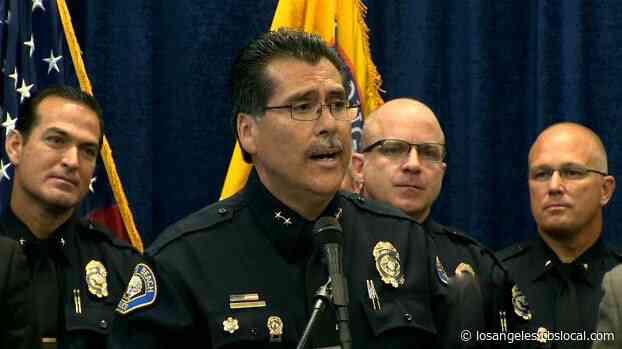 Long Beach Police Chief Robert Luna Hit By Truck