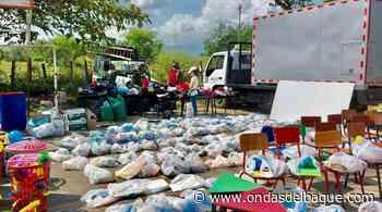 Comunidades del resguardo indígena Chenche Basillas de Coyaima recibieron ayudas humanitarias - Emisora Ondas de Ibagué, 1470 AM