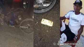 Triple choque en Campo de la Cruz: un muerto y una mujer herida - EL HERALDO
