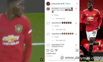 Manchester United defender Axel Tuanzebe receives racist abuse on social media after Everton match