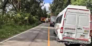 Joven deportista cayó a un barranco en la vía Bogotá – Choachí - Publimetro Colombia