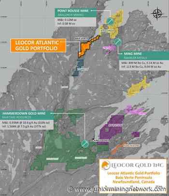 Leocor Gold Adds Strategic Ground in Baie Verte Mining District, Central Newfoundland, Canada - Junior Mining Network