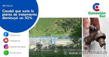 Empresas Públicas de Betulia estableció racionamiento de agua - ConexionSur