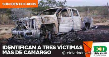 Identifican a tres víctimas más de Camargo - El Diario de Ciudad Victoria