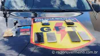Polícia prende suspeitos de furto milionário em Ipameri - Radio Rio Vermelho