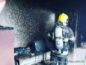 SEM FERIDOS Aeroporto de Ipameri registra princípio de incêndio - Mais Goiás