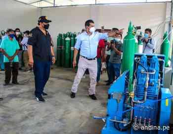 Junín: con nueva planta de oxígeno Pangoa y Satipo enfrentan segunda ola del covid-19 - Agencia Andina