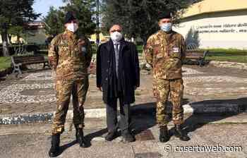 Santa Maria Capua Vetere, il Garante Samuele Ciambriello ha fatto visita al carcere militare | - CasertaWeb