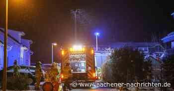 Feuer in Wohngebiet: Todesopfer bei Brand in Walheim - Aachener Nachrichten