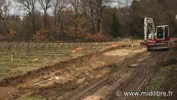 Montferrier-sur-Lez : les travaux sont en cours, la piste cyclable arrive enfin ! - Midi Libre