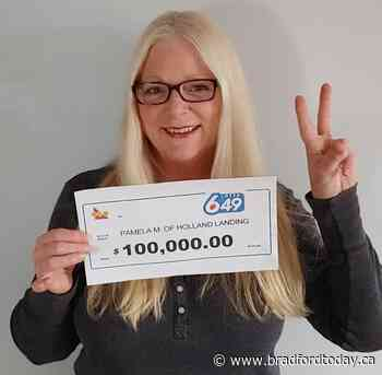 $100K lottery win makes Christmas Day special for Holland Landing mom - BradfordToday
