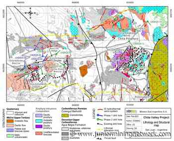 Minsud Resources Announces Results of Phase 2 Drilling Program at Chita Valley Project, San Juan, Argentina - Junior Mining Network